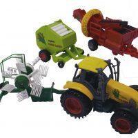Traktoriai, kombainai